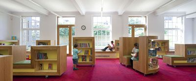 Lower ground floor children's library (photo: Paul Riddle)