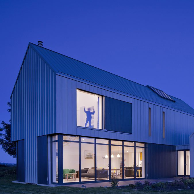 Works coverage of buildings masterplans research for Newhouse sheds