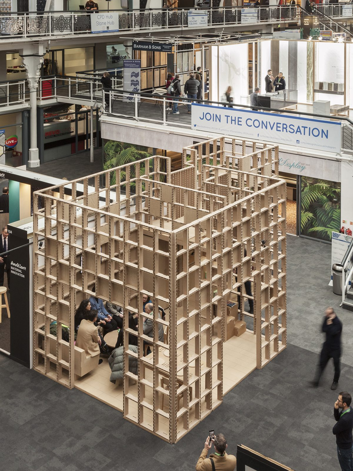 Exhibition Stand Architecture : Hare to ke architecture today