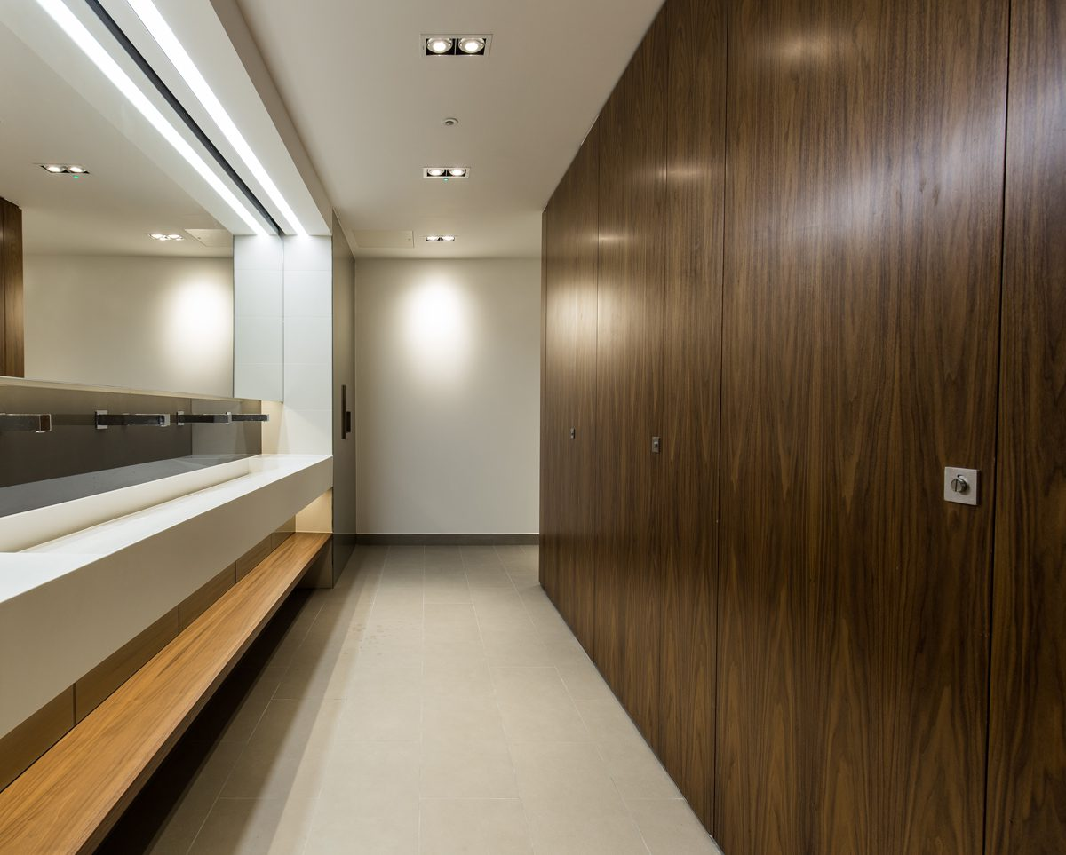 Creating Contemporary Commercial Washrooms