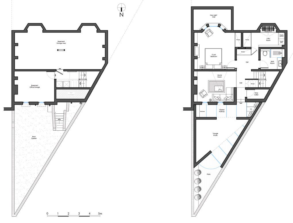Triple Aspect   Architecture Today on Triangle Shaped Backyard Design id=33583