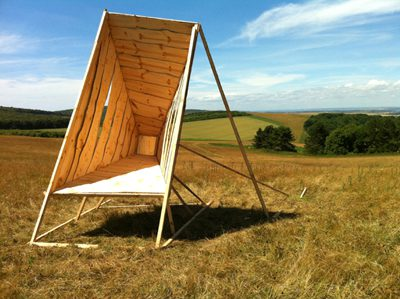 Solar Mirror designed by Kate Darby and Gianni Botsford